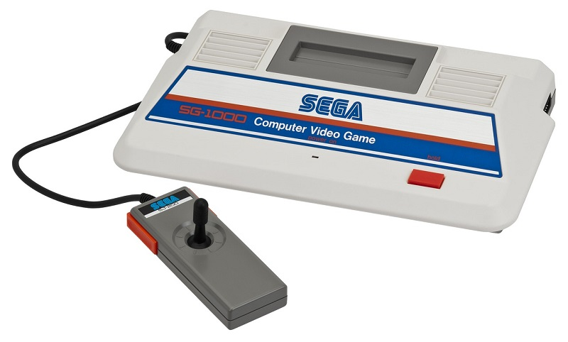 Old fashioned Sega game console